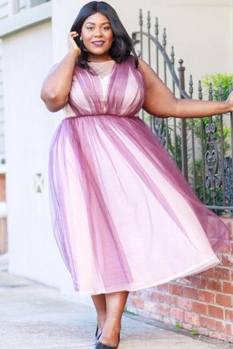Find a Dress that Creates Waist
