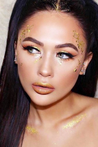 Glitter Makeup Looks
