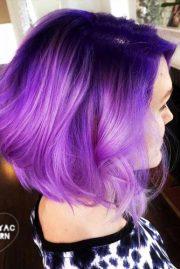 purple hair styles
