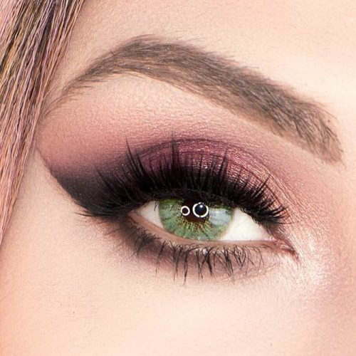EYE COLORS GUIDE AND MAKEUP IDEAS FOR THEM | Perfect Eyeshadow Colors For Green Eyes