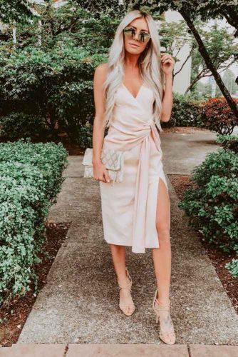 Wrap Around Dress #summerdress #formaldress