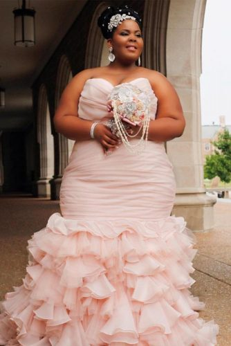 Elegant And Sassy Plus Size Wedding Dresses Designs Crazyforus
