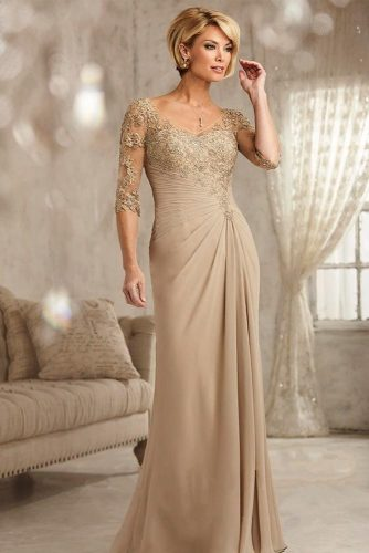 Dress With Cascading Draping   #longdress #elegantdress