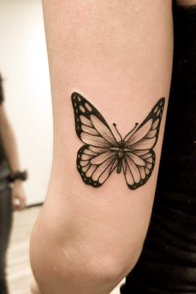 Black And White Butterfly Tattoo : black, white, butterfly, tattoo, Beautiful, Meaningful, Butterfly, Tattoo, Guide