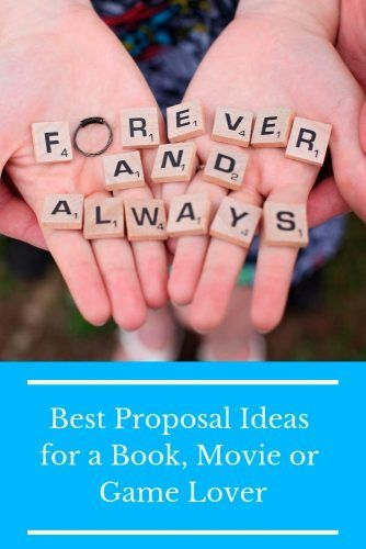 Best Proposal Ideas For A Book, Movie Or Game Lover