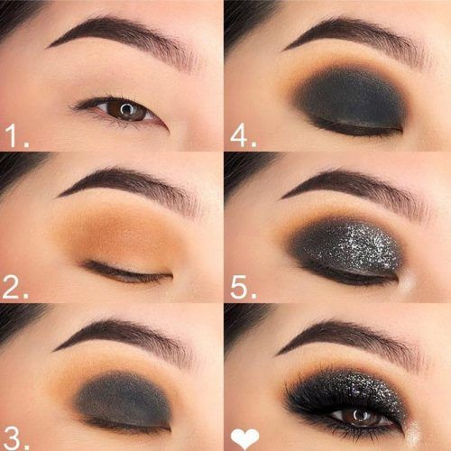 Black Smokey Eyes Tutorial #blacksmokey #makeuptutorial