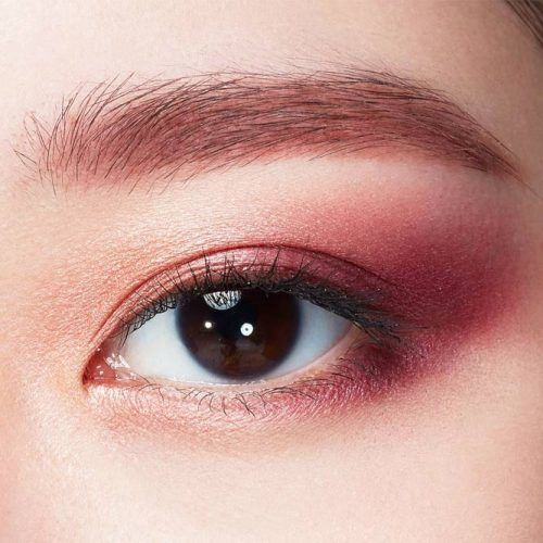 Shimmery Berry Smokey Eyes #berrysmokey