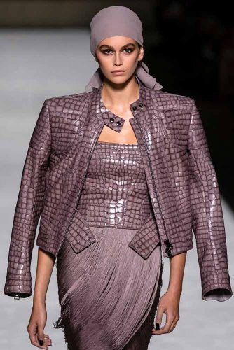 Tom Ford Collection On New York Fashion Week #tomford