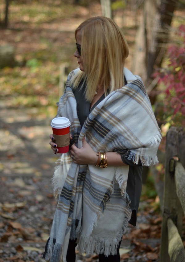 3 Ways to Style a Blanket Scarf