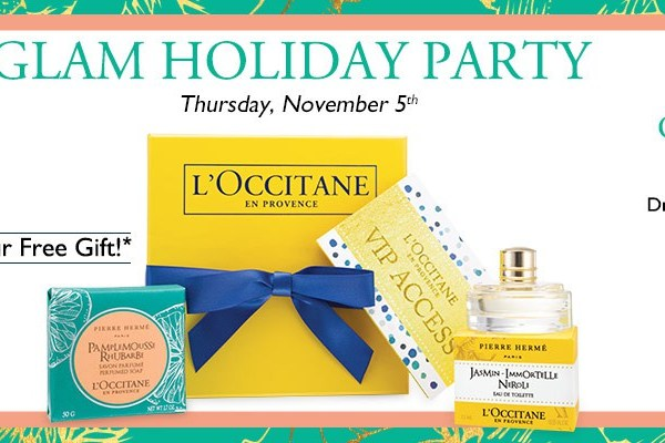 L'OCCITANE Holiday Event Alert!