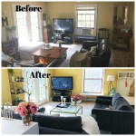 How to do a Living Room Makeover (Before/After Pics)