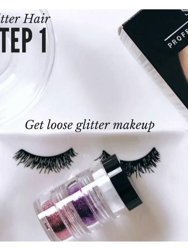 Creative Hair Ideas: Glitter Hair, Don't Care!