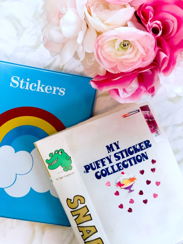Decorating with Stickers as an Adult (yes, stickers!)