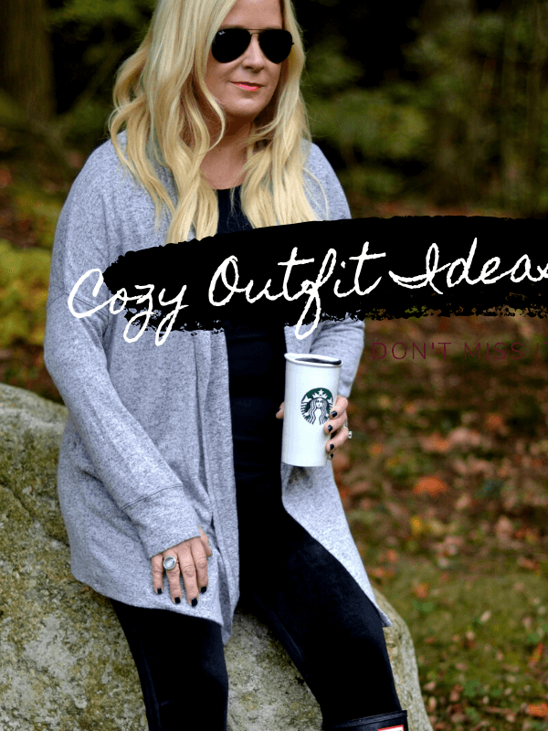 Fall to Winter Outfit Ideas!