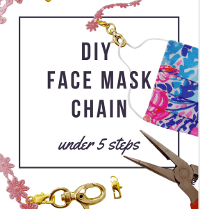 DIY Face Mask Chain in Under 5 Steps