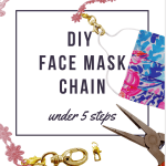 DIY Face Mask Chain in Under 5 Steps (& under $5)