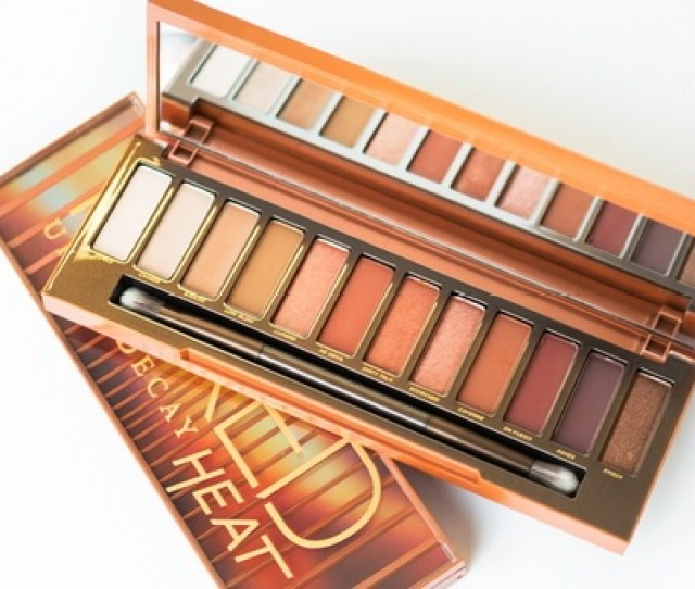 Urban Decay Naked Heat Review Swatches Reviewed February