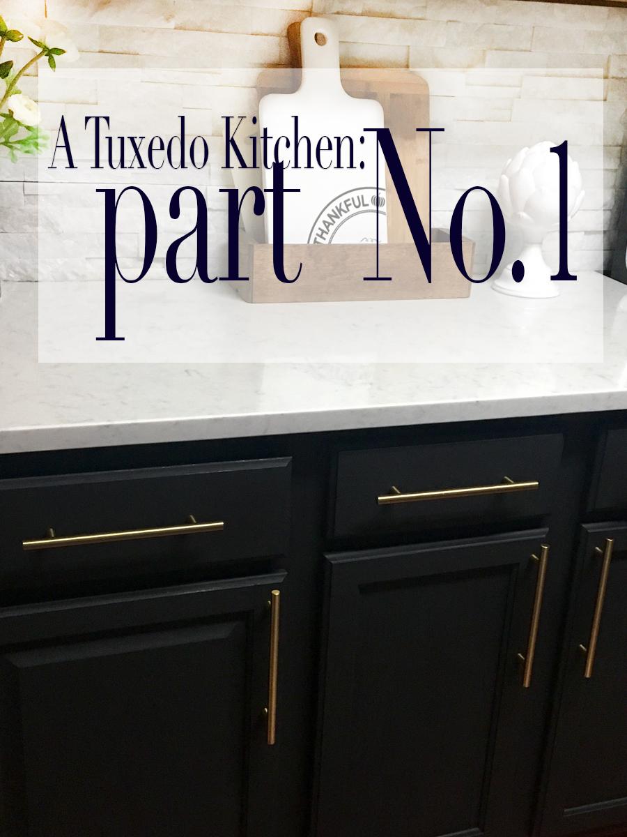 A TUXEDO KITCHEN RENOVATION Part No1  Glammed Events