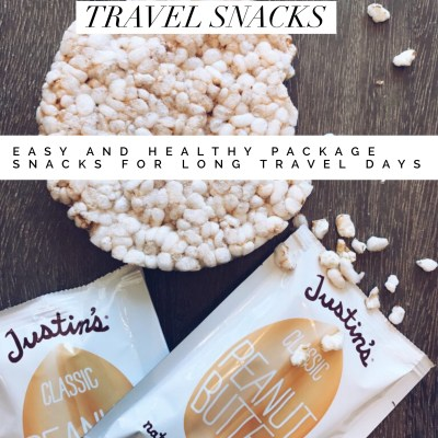 Easy and Healthy Packable Travel Snacks