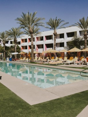 The Saguaro Scottsdale pool