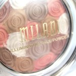 Milani Illuminating Face Powder in 01 Amber Nectar Swatches and Review