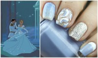 Disney Princess Inspired Nail Art: Cinderella - Glamorable