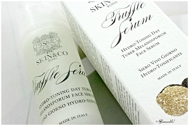 Truffles, moisturizer, serum
