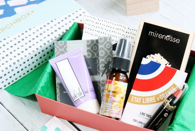Birchbox March 2015 Unboxing, Review, Swatches, Mirenesse Glossy Kiss, amika Bombshell Blowout Spray, Etat Libre d'Orange Like This, perfume, Whish Three Whishes Body Butter, Paula's Choice RESIST Moisture Renewal Oil Booster, serum, skincare
