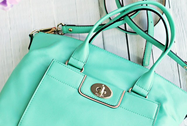 Mint things: nail polish, Kate Spade leather satchel, makeup, skin care and more...