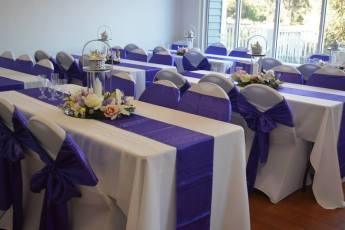 Purple and pink Lantern decor 3