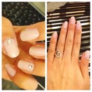 fall neutral mauve nails glamorous