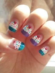 cupcake nails glamorous gamer