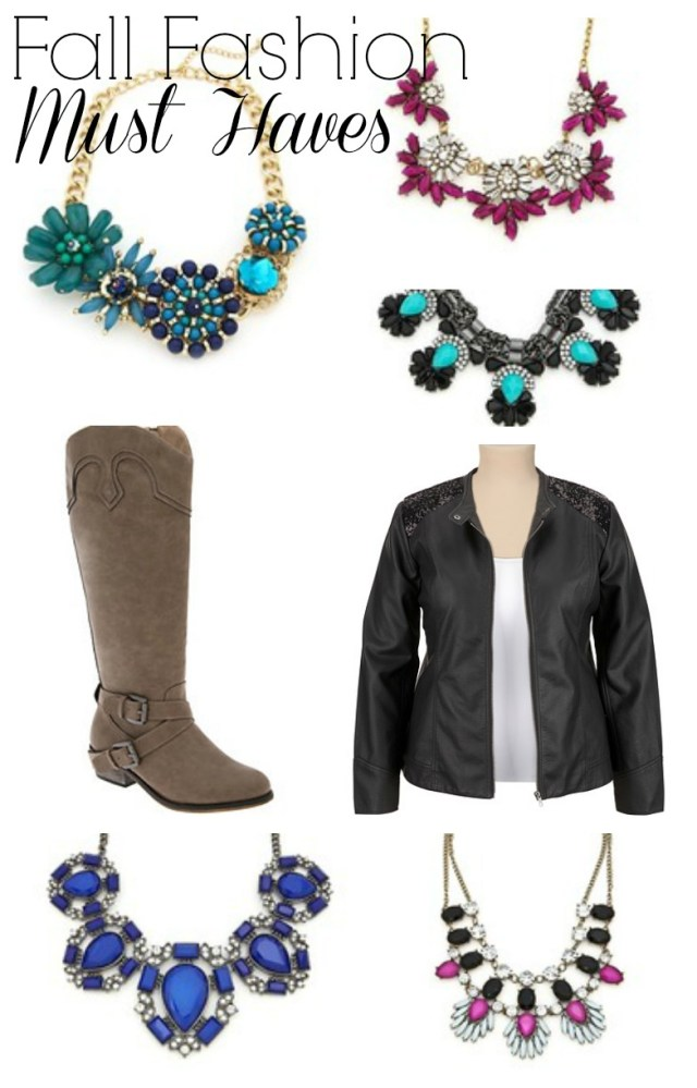 Plus Size fall fashion must haves