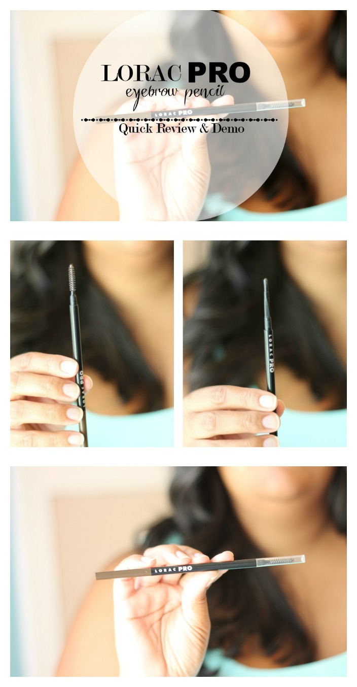LORAC PRO Eyebrow Pencil Review & Demo