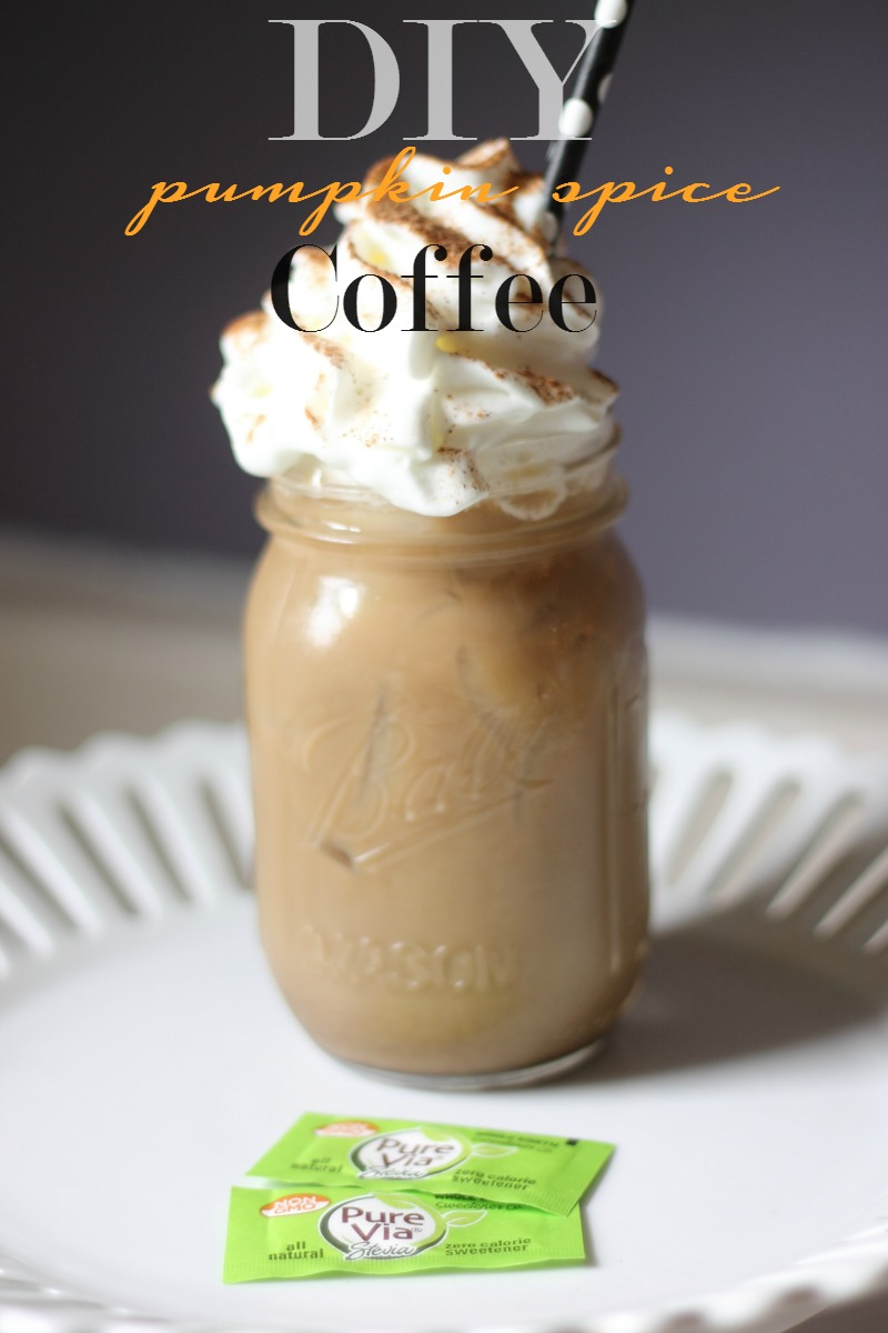 Iced Pumpkin Spice Coffee