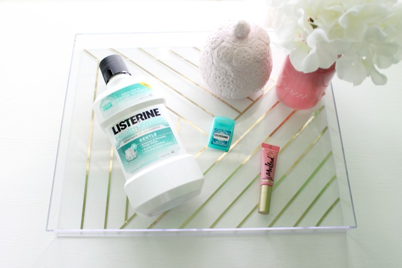 Listerine Oral Care Routine that changed our family habits