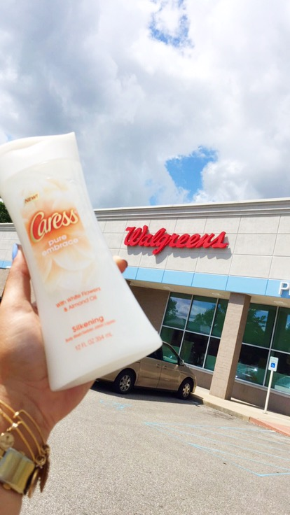 Smell like a fresh flowers while saving on Caress Pure Embrace at Walgreens