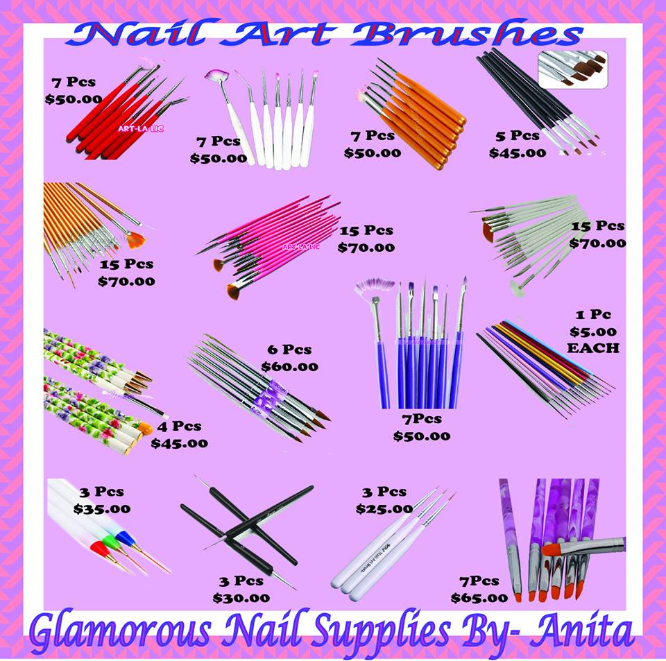 Ideal For The Professional Nail Artist And Beginner Expecting Real Results These Art Brushes Are Of Highest Quality Durability