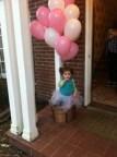 Valentine Theme Party Mini Balloon ride basket