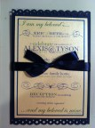 Twilight Wedding Invitation