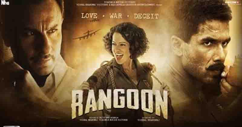 Rangoon – Movie Review