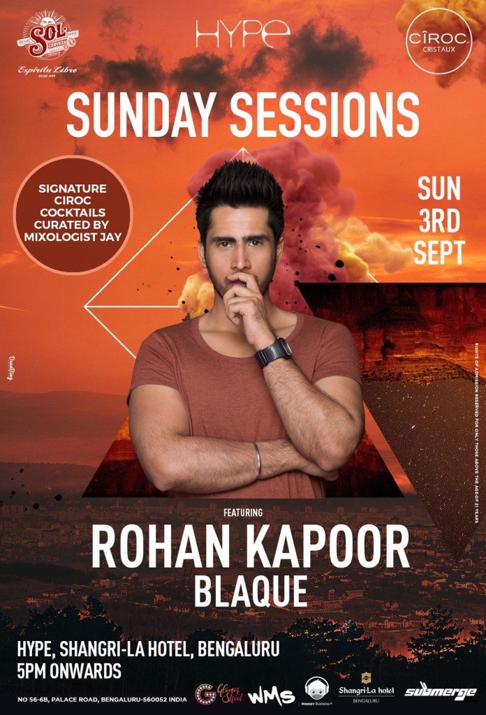 SUNDAY SESSIONS feat ROHAN KAPOOR