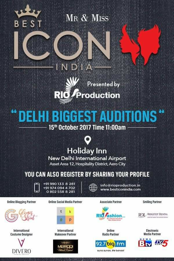 Best Icon Model Delhi Auditions