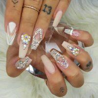 acrylic-wedding-nail-design-600600  Vicariously Me ...