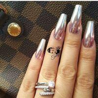 3 Cute Chrome/Mirror Nail Designs