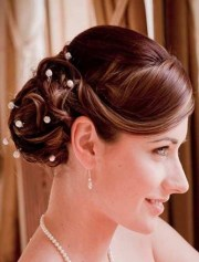 bridal party hairstyles long