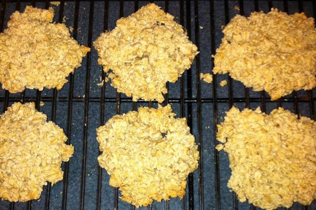 freshly baked oatcakes recipe cooling wrack