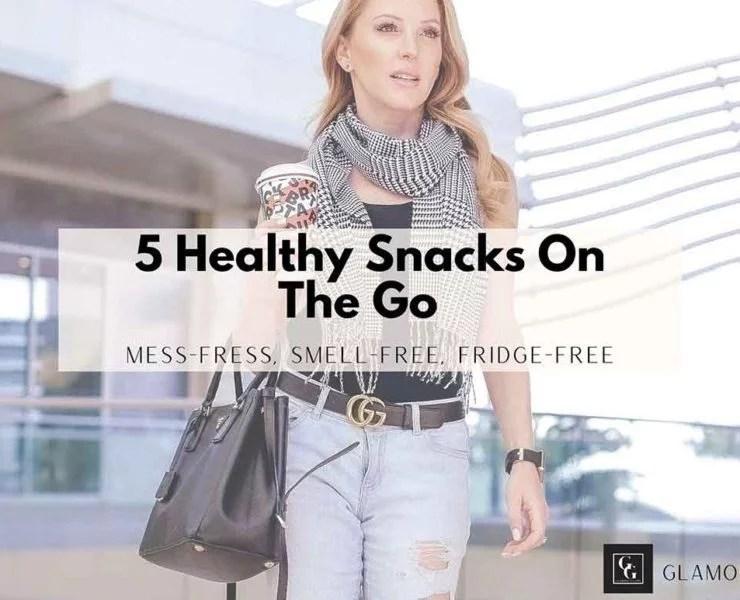 healthy on the go snacks health blog