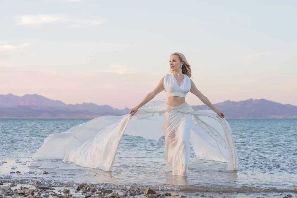 Lake Mead Nevada fashion editiorial