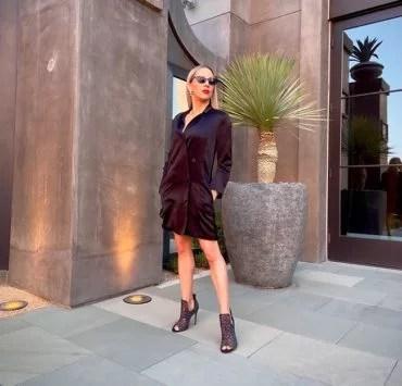 metallic boots winter 2021 fashion blogger eve dawes